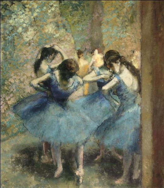 """Quel peintre est l'auteur du tableau """"Les danseuses bleues"""" ?"""