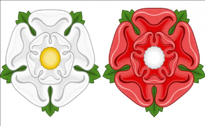 Dans quel pays ''La guerre des Deux-Roses'' a-t-elle eu lieu ?