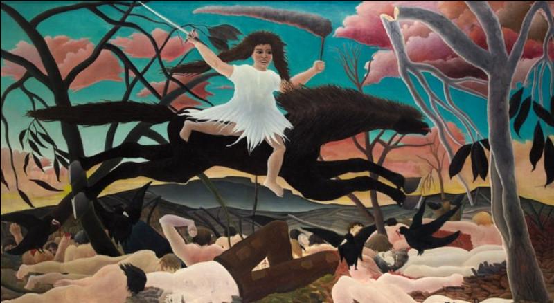 Quel peintre a réalisé ce tableau intitulé ''La Guerre'' ?