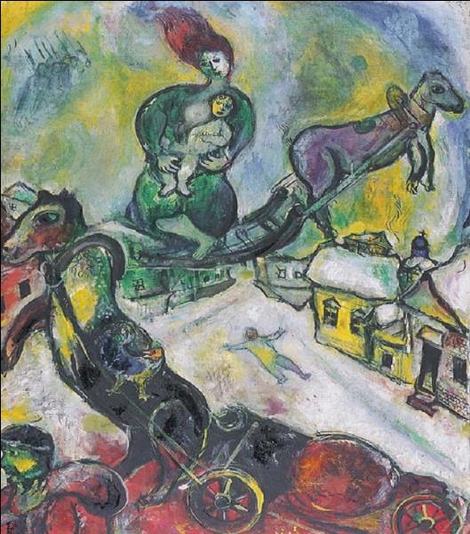Qui est l'auteur de ce tableau intitulé ''La Guerre'' ?