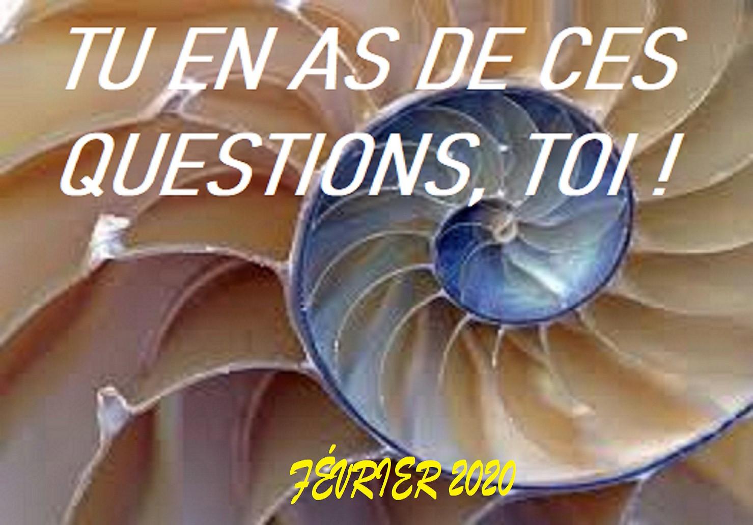 CG1303 – Questions de mémoire