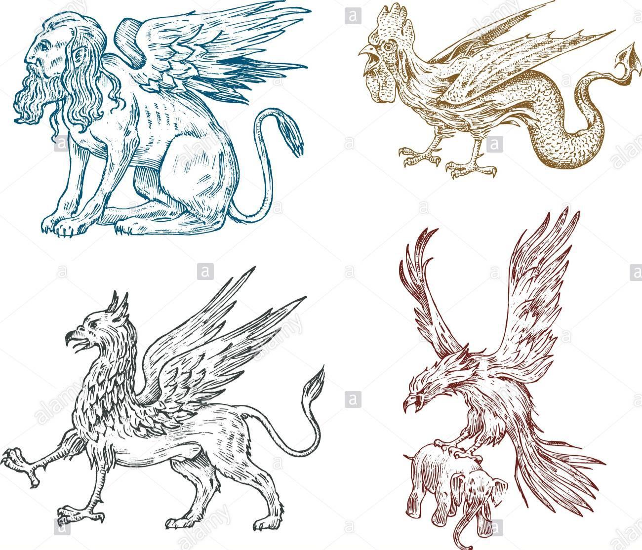 Quelques créatures mythologiques