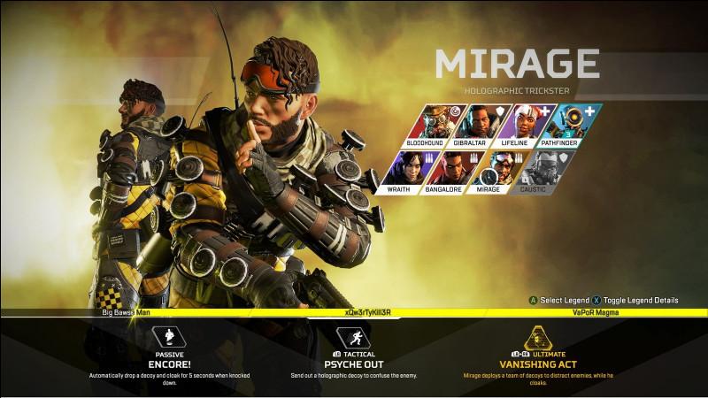 Mirage a le pouvoir de...