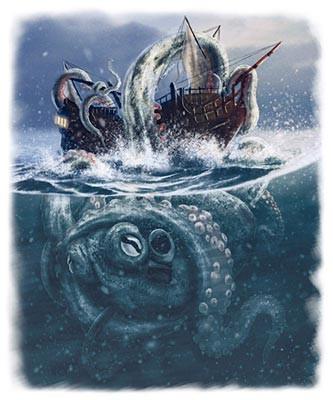Cryptozoologie - Le kraken