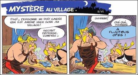 Nous retrouvons le petit village gaulois et ses habitants. Mais que répond Ordralphabétix