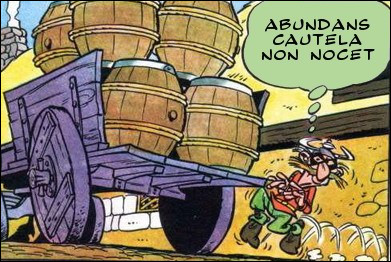 """Le voleur de charrettes aurait-il eu un """"morceau de chance"""" ?"""