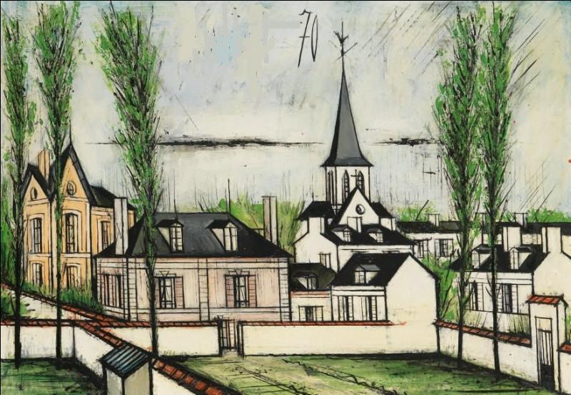 """Qui a peint """"Le clocher du village ?"""