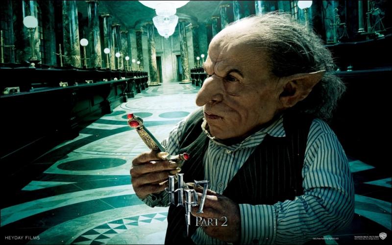 Quel Gobelin aide Harry, Ron et Hermione a pénétré dans la chambre forte des Lestrange ?