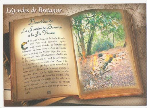 Bonjour à tous ! Pour commencer, qui a imaginé Brocéliande ?
