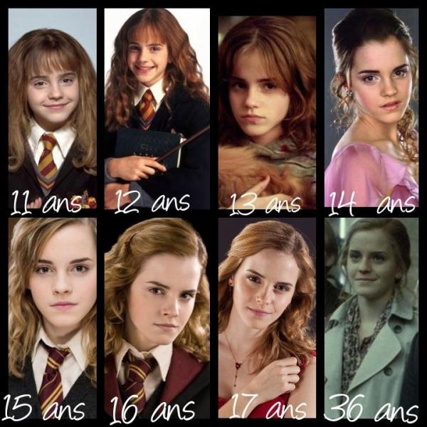 De qui Hermione est-elle amoureuse ?