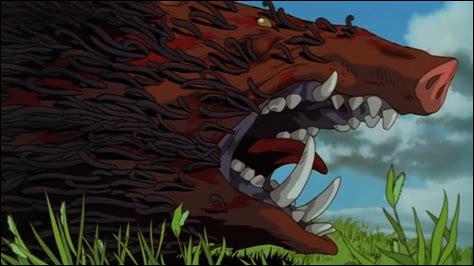 Comment s'appelle le sanglier (devenu démon) qui, au début du film, blesse Ashitaka ?