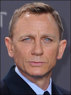 Qui est ce Daniel, acteur britannique célèbre pour son rôle au cinéma de James Bond ?