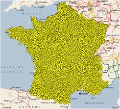 Saurez-vous situer ces communes ? (2009)