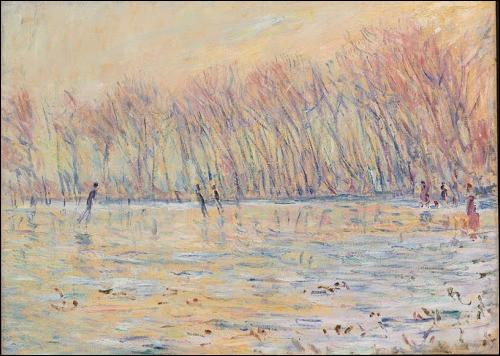 """Qui a peint """"Les patineurs à Giverny"""" ?"""