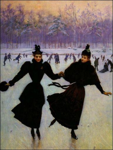 """Qui a peint """"Les patineuses"""" ?"""