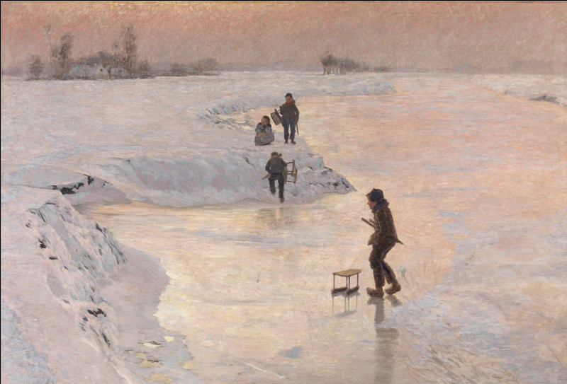 """Qui a peint """"Les patineurs"""" ?"""