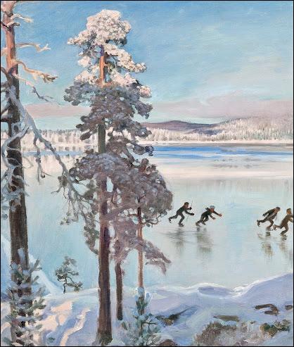 """Qui a peint """"Paysage d'hiver avec patineurs"""" ?"""