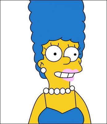 Comment s'appelle cette femme aux cheveux bleus ?