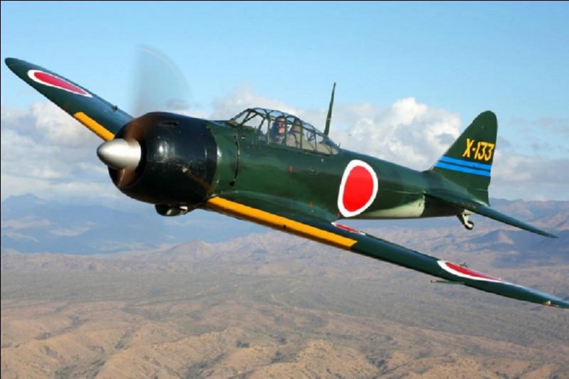 Le Zéro est le surnom d'un avion de chasse, de quel pays ? (Utilisé pendant la Seconde Guerre mondiale)