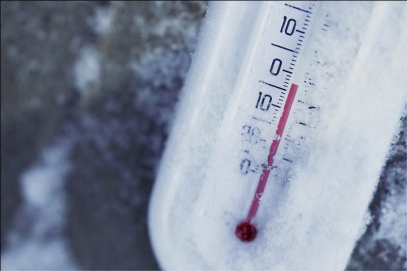 Quelle est la valeur du zéro absolu (température considérée comme étant celle la plus basse possible, impossible à dépasser) ?