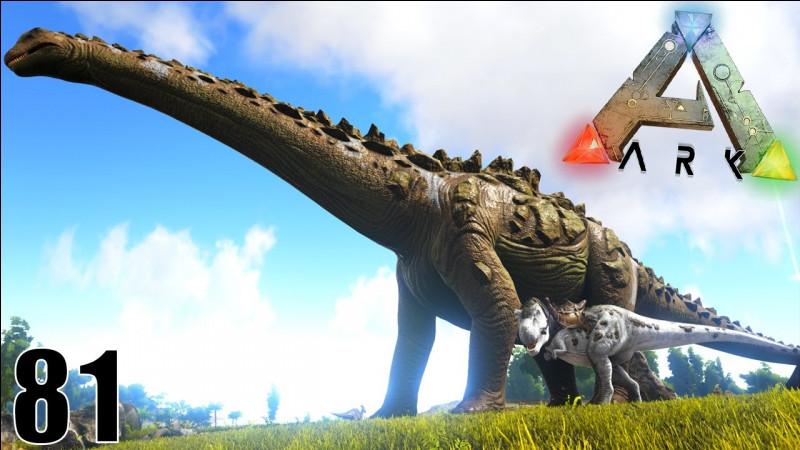 Quel est le dinosaure le plus grand de ARK ?
