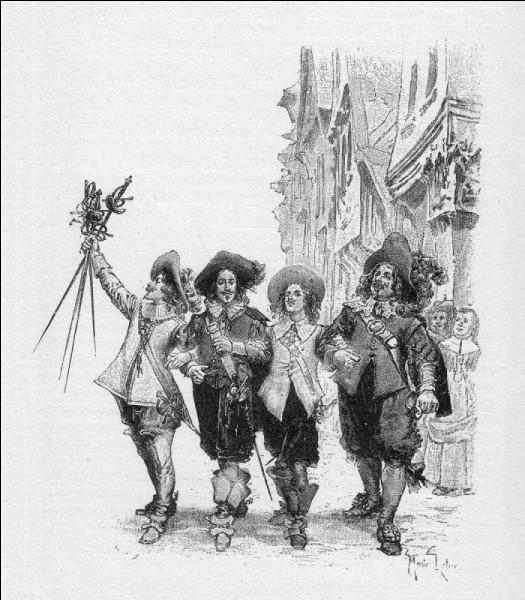 Qui a écrit «Les Trois mousquetaires» ?