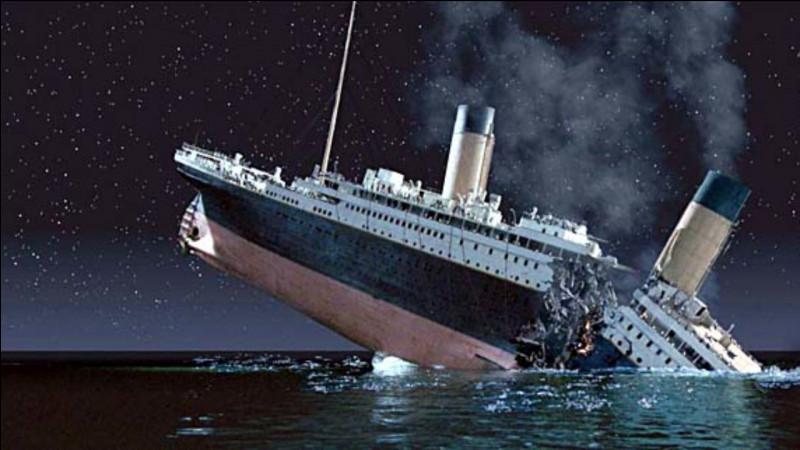 Quel jour a coulé le Titanic?