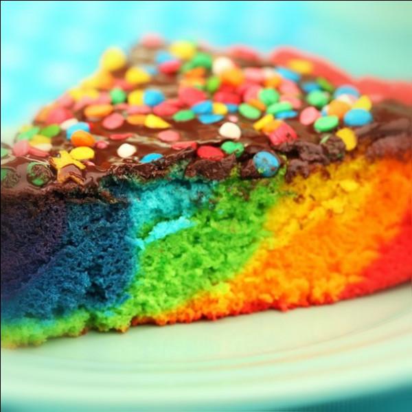 À quoi est ce gâteau ?