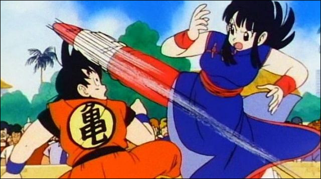 Pourquoi Goku accepte-t-il de se marier avec Chi-Chi ?