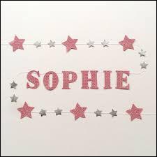 """Laquelle de ces célébrités n'a pas pour prénom """"Sophie"""" ?"""