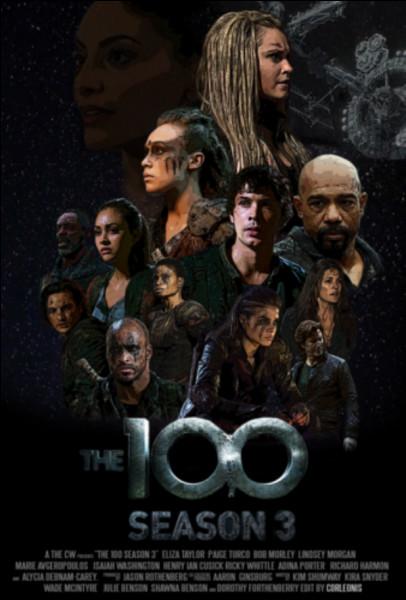 Avec qui les 100 s'allient-ils dans la deuxième saison ?