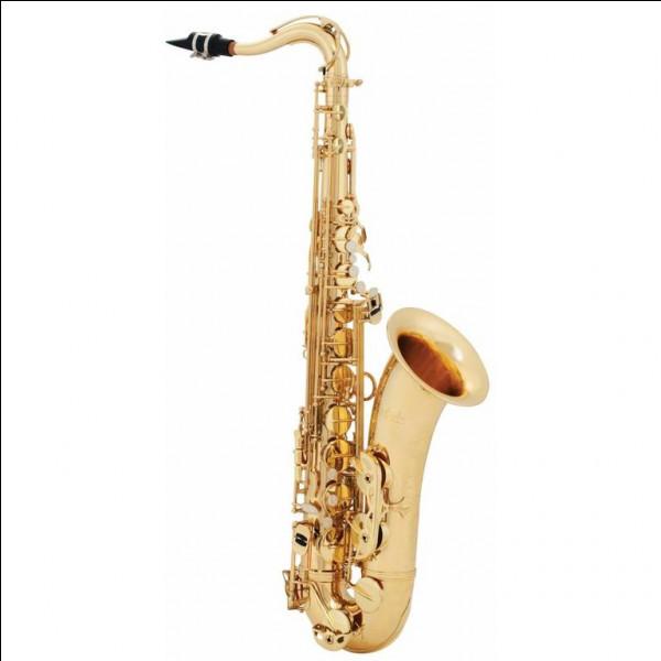 Dites-moi dans quelle famille est le saxophone.