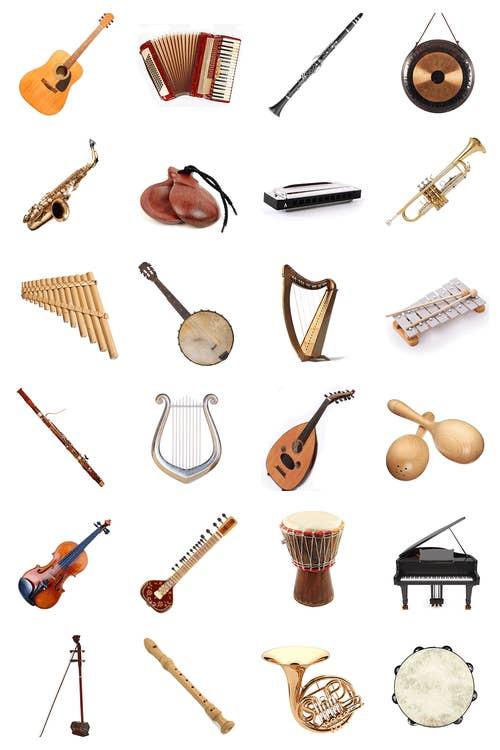 Les familles #1 (Instruments de musique)