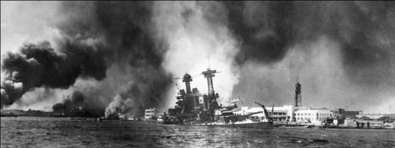 Quand a lieu l'attaque de Pearl Harbor ?