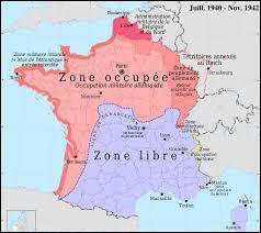 Où se situait la capitale de la France lorsqu'elle fut prise par les Allemands ?