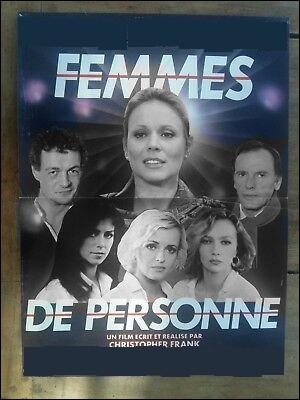"""Quelles actrices jouaient dans le film de Christopher Frank """"Femmes de personne"""" ?"""