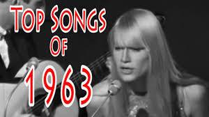 Chansons non-francophones de l'année 1963 (3e partie)