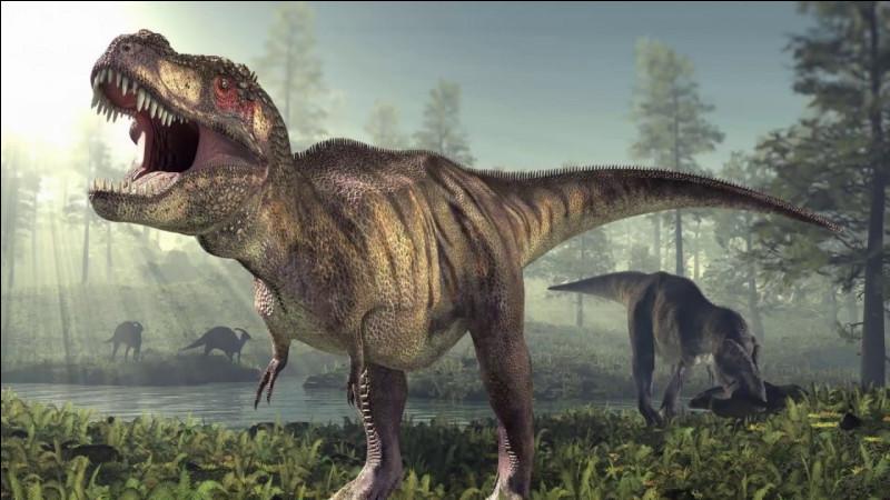 Comment s'appelle l'homme qui se fait manger par le tyrannosaure ?