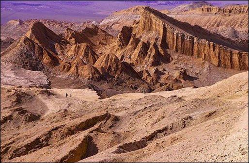 On se croirait sur une autre planète... D'ailleurs, le nom de cet endroit y fait penser. Lequel et où ?