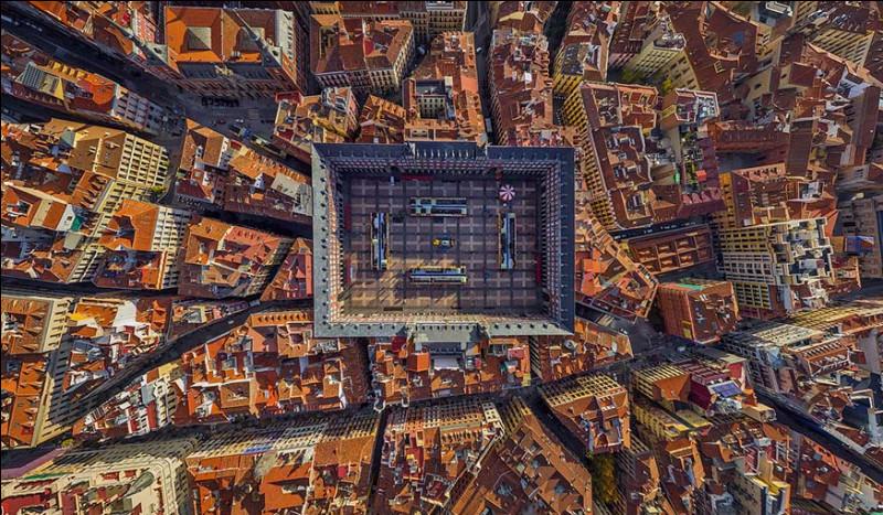 La Plaza Mayor, de nos jours, est un site incontournable du tourisme madrilène et l'un des emblèmes de la capitale. L'été et les fêtes de fin d'année constituent ses périodes les plus animées. En tant que capitale d'État, elle abrite la plupart des institutions politiques du pays, dont la résidence royale, le siège du gouvernement et le Parlement.Nommez cette ville.
