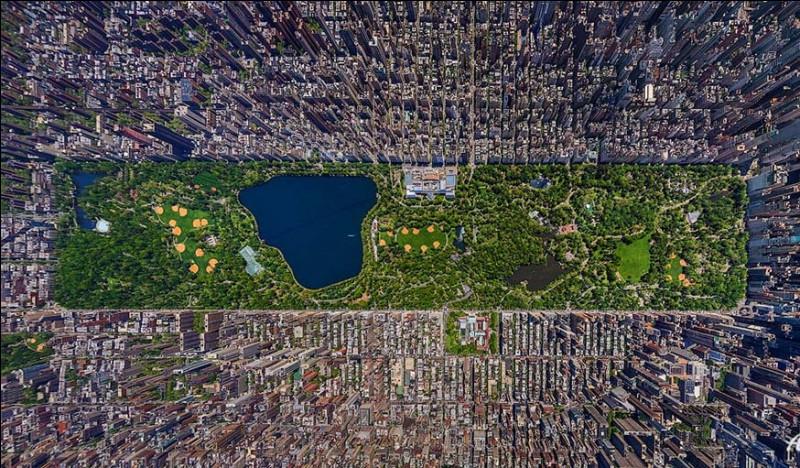 Le poumon de Big Apple s'étend de la 59th à la 110th Street (de la Fifth à la 8th Avenue), comme sur un damier. Pour vous y promener, louez un vélo et allez au Great Lawn, une pelouse où trouver des terrains de baseball ou de basket et des cinémas en plein air. Où trouve-t-on Central Park, et aussi à Strawberry Fields, un monument à John Lennon et le parcours de jogging de Jackie K.O. ?