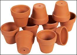 En quoi sont réalisés ces pots ?
