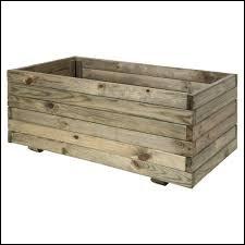 Les conteneurs en bois sont surtout utilisés pour les :
