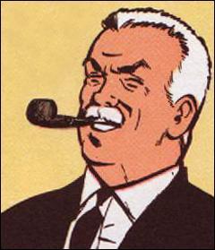 Comment s'appelle ce commissaire, ami de Ric Hochet ?
