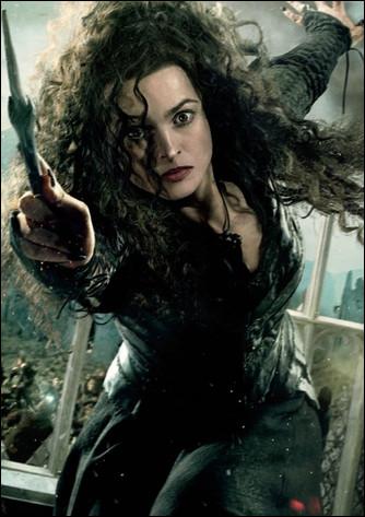 Bellatrix Lestrange est dans la saga...