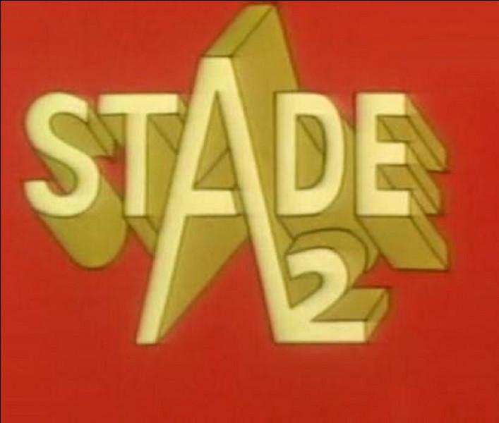 Qui a créé ''Stade 2'', émission de télévision française consacrée à l'actualité sportive ?