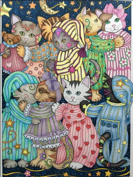 Quelle artiste peintre a représenté beaucoup de chats ?