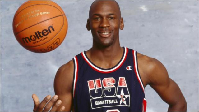 Quel métier a pratiqué Michael Jordan ?