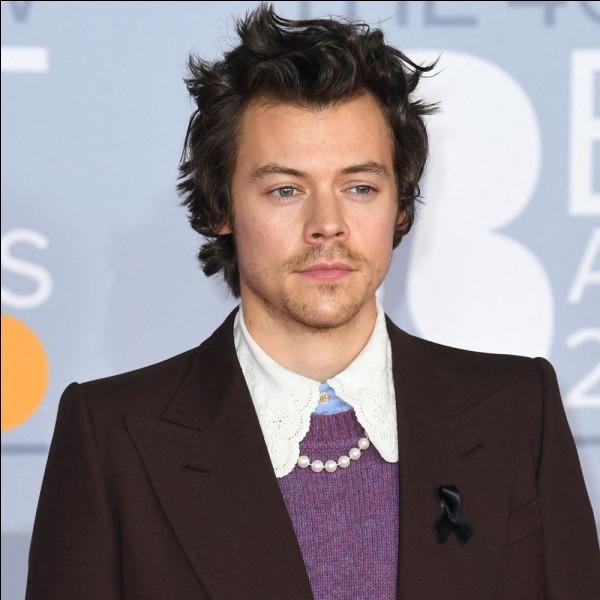 Et pour finir quel est celui de Harry ?