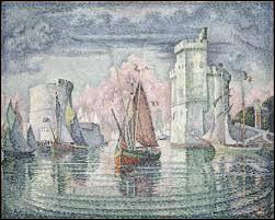 """Qui a peint """"L'Entrée du port de la Rochelle"""" ?"""